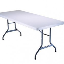 6ft plastic tables, & 8 ft