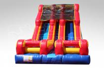 Double 18ft Lane Slide (dry)
