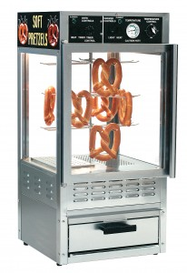 Pretzel Warmer Display